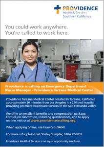 ER Nurse Manager